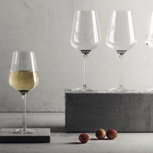 kristallen wijnglas